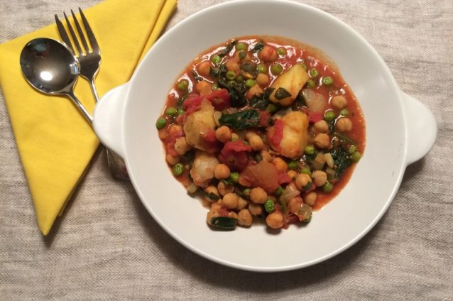 Spicy Bowl of Chickpeas